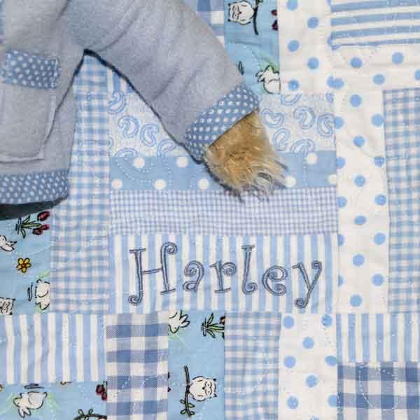 Harley's blanket