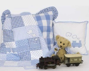 My-Little-Train-cot-quilt-and-cushion-with-Hornby-and-old-Bessie-Q000106
