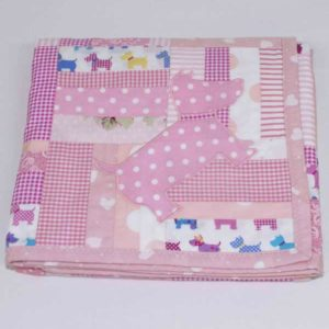 Walkies-Pink-patchwork-blanket-folded-B000106