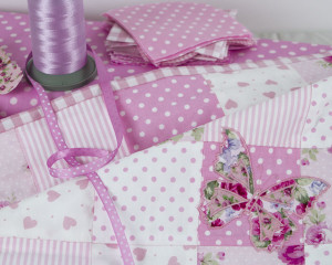 Flutterby-Butterfly-Candy-Pink-Patchwork-blanket