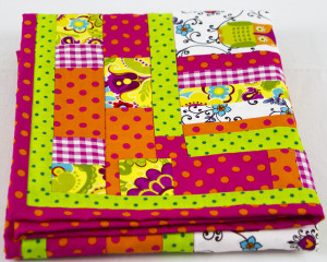 It's-a-Hoot-Pink-Patchwork-blanket-folded