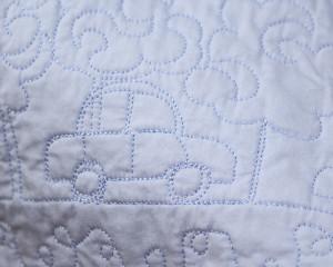 Happy-Days-Blue-cot-quilt-detail-1