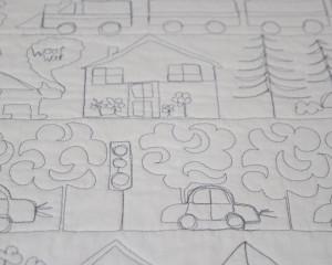 Happy-Days-white-cot-quilt-detail-1