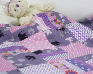 Purple-Elephants-Patchwork-Blanket