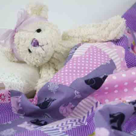 Purple-elephants-Patchwork-Blanket