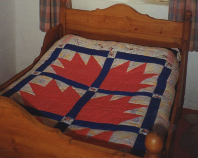 Bears Paw quilt