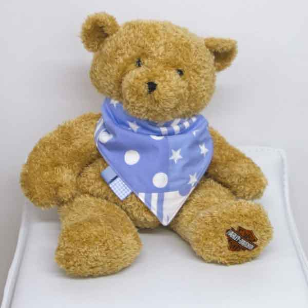 Blue-patchwork-full-bandana-bib-blue-corners-BB029