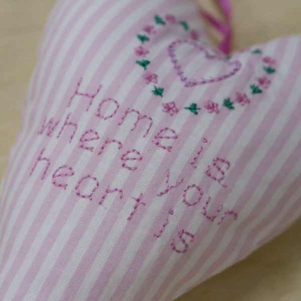 Home is where your heart is - heart front