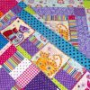 Coolest-Cats-in-Town-patchwork-cot-quilt-border-detail-Q000115