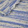 Crochet-Blanket-Blue-variegated-detail