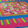 Party Time Patchwork Quilt detail